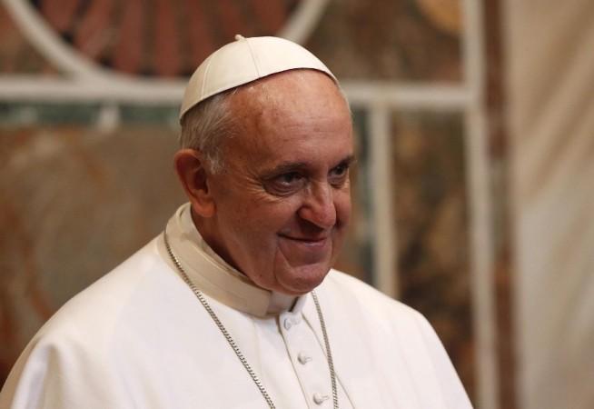 TGN108 CIUDAD DEL VATICANO (VATICANO), 22/03/2013.- El papa Francisco, durante una audiencia con el Cuerpo Diplomático acreditado ante la Santa Sede, en el Vaticano, el 22 de marzo de 2013. EFE/TONY GENTILE / POOL