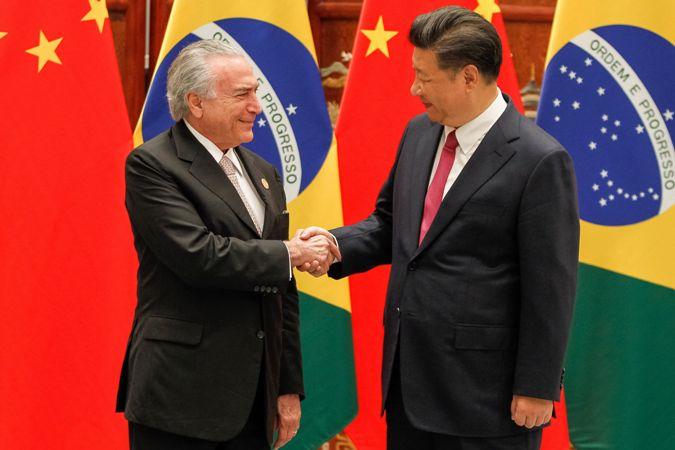 Resultado de imagem para China  investir no Brasil