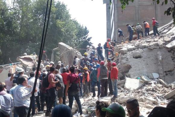 Terremoto no México deixa pelo menos 119 mortos