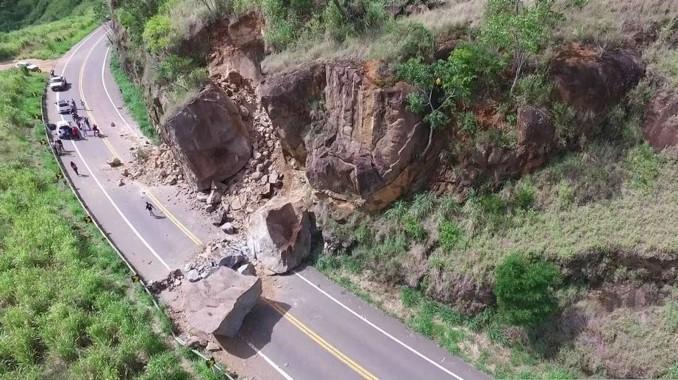 Rodovia entre Leste de Minas e Espírito Santo completa duas semanas de interdição