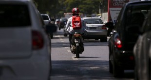 Brasília, DF, Brasil: Motos. (Foto: Marcelo Camargo/Agência Brasil)