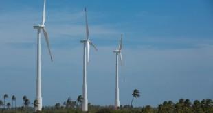 Usina de Energia Eólica (UEE) em Icaraí, no Ceará (CE)