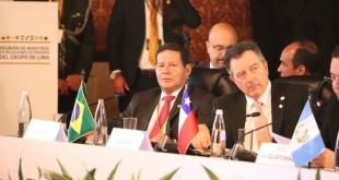 Vicepresidente de Brasil, Hamilton Mourão,Cancillería Colombia