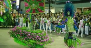 Desfile da Mangueira no Carnaval 2019 no Rio de Janeiro