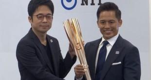 Tocha olímpica com tema de cerejeira revelada para Tóquio 2020